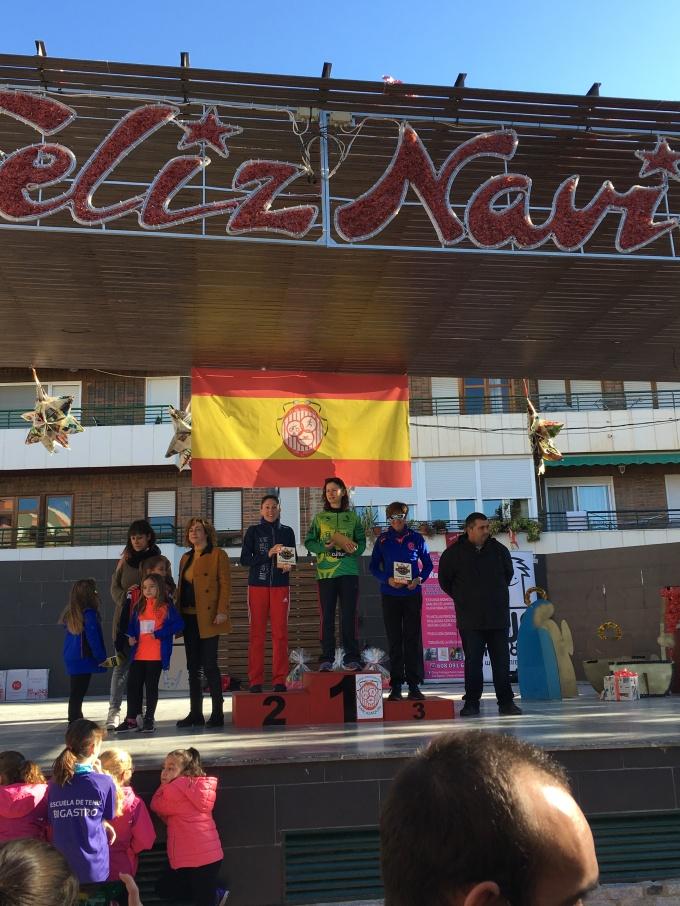 2017.12.17 Bigastro podium